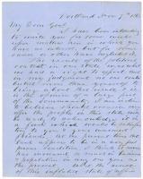 Horatio Jose on Portland business opportunities, 1863