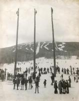Flagpoles, 1971 Sugarloaf World Cup Ski Races