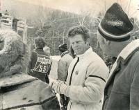 Ski racing legend, Sugarloaf world Cup, 1971