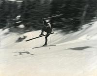 High speed action, Sugarloaf 1971 World Cup