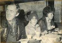 Senator Muskie at the Sugarloaf World Cup, 1971