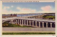 Million Dollar Bridge, Portland, ca. 1916