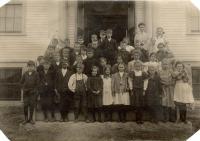 School children, Stonington