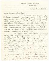 I.T. Williams praise of Gen. G.F. Shepley, 1863