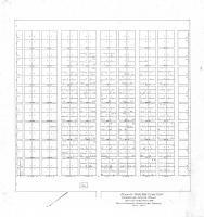 Plan of Moss Side Cemetery, Cumberland Center, 1937