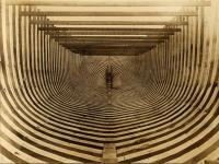Oak hull of the trawler Amagansett, 1912