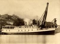 'City of Stamford' steamboat, Portland, ca. 1907