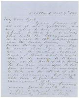 H. Jose to Brig. Gen. Shepley on Portland business, 1863