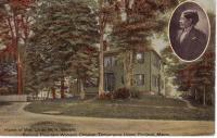 Home of Mrs. Lillian M.W. Stevens, Portland, ca. 1910