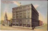 Masonic Temple in Portland, ca. 1910