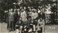 Madawaska Training School male students, Fort Kent, 1928