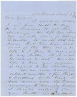 Horatio Jose to Gen. Shepley on Portland events, 1864