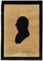 Silhouette of Samuel Freeman, ca. 1780