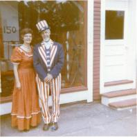 Uncle Sam celebrates Hartland's sesquicentennial, 1970