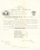 Army of the Tennessee reunion announcement, 1865