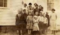 Rayville school, Otisfield, 1925