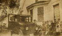 Webb's Mills school, Casco, ca. 1925