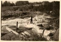 Denny's stream, Dennysville, ca. 1930