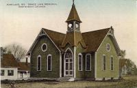 Grace Linn Memorial Methodist Church, Hartland, ca. 1900