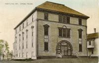 Hartland Opera House, Hartland, ca. 1900