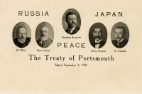 Russia Japan Peace delegations, 1905