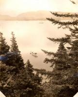 Mount Desert Island from Porcupine Island, ca. 1910