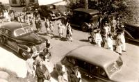 Memorial Day parade, Deer Isle, ca. 1940