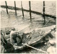Fish weir, Lubec, ca. 1935
