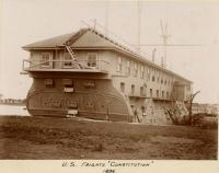 U.S. Frigate Constitution, Kittery, 1896
