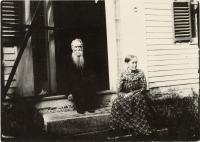 Edwin Payson and Lavina Reed Snow, Atkinson, ca. 1900
