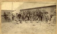 Slate Quarry Workers, Monson, ca. 1900