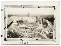 Aerial View of the Monson-Maine Slate Quarry, ca. 1930
