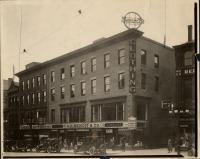Benoit's department store, Portland, 1922