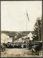 Portland-Monson Slate Company celebration, Monson, ca. 1916