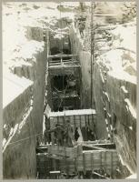 Winter Slate Mining, Monson, ca. 1910