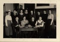 Stonington High School editorial staff, ca. 1919