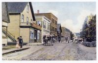 Main Street, Northeast Harbor, ca. 1910