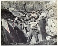 Barnard Quarry employees, Barnard, 1951