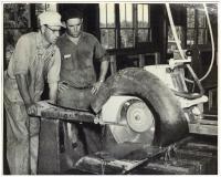 Cutting slate, Barnard, 1951