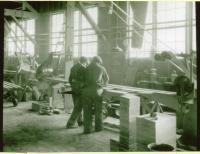 Monson-Maine Employee, ca. 1910