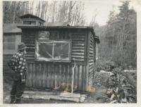 Carl Schilling's cabin, Byron, ca. 1970