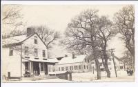Village Store and Homes, Somesville, ca.  1905