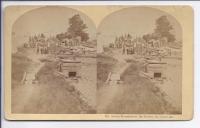 Indian Encampment at Bar Harbor, Mount Desert Island, ca 1900