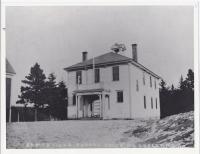 Somesville School House, Main Street, ca 1900