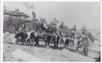 Granite Quarry Crew at Work, Mount Desert Island, ca. 1890