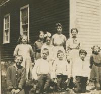 District 7 School, Roxbury, 1915.