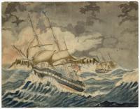 U.S. Frigate United States, 1832