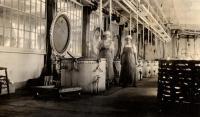 Underwood's Jonesport factory, ca. 1930