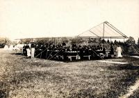 Rifle Range, Portland High School cadets, 1896