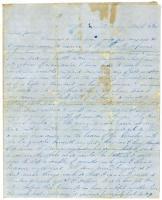 James L. Hunt on desire to return to Bath, 1846